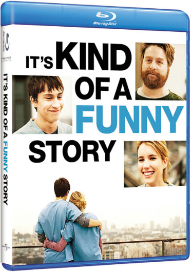 It's Kind of a Funny Story Blu Ray