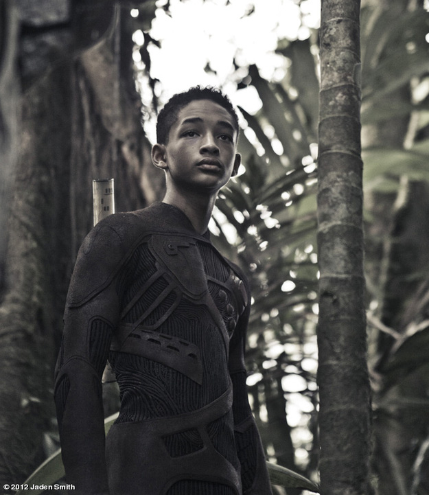 Jaden Smith in Sony's 'After Earth'