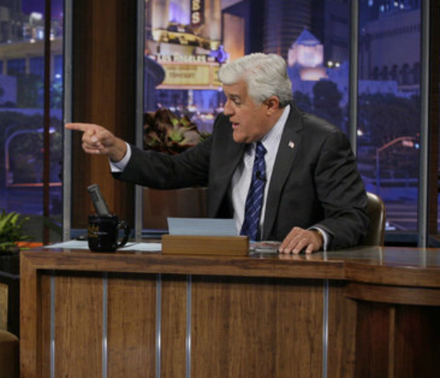 Jay Leno Jokes About NBC