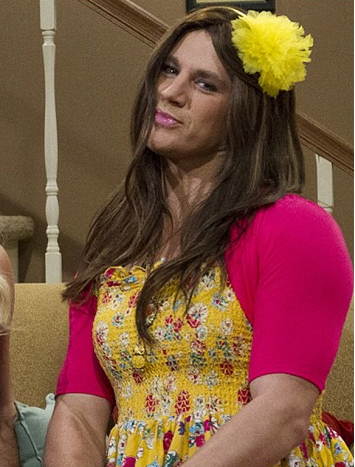 Channing Tatum Dressed as a Girl