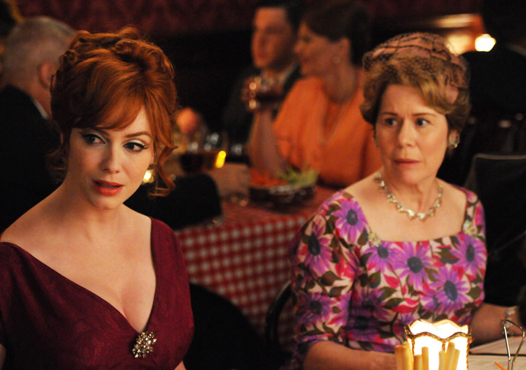 Joan and her mom Mad Men