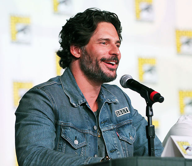 Joe Manganiello True Blood Stripping at Comic Con