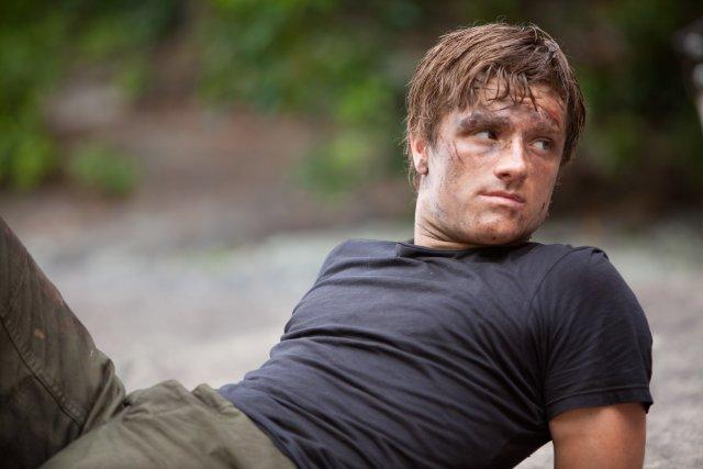 Josh Hutcherson in 'The Hunger Games'