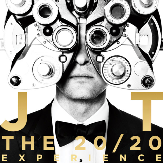 Justin Timberlake Album Cover 20/20 Experience