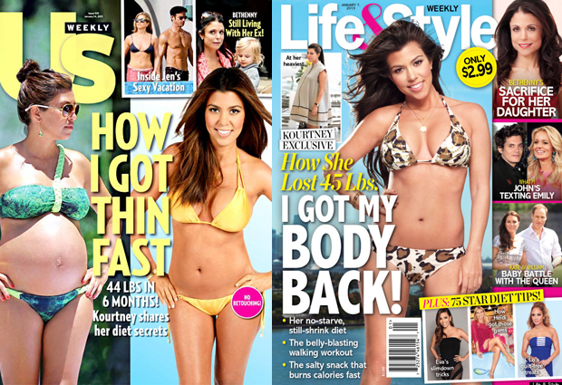 Kardashian Diet covers lead