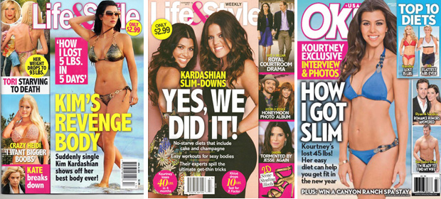 Kardashian Diet covers 2