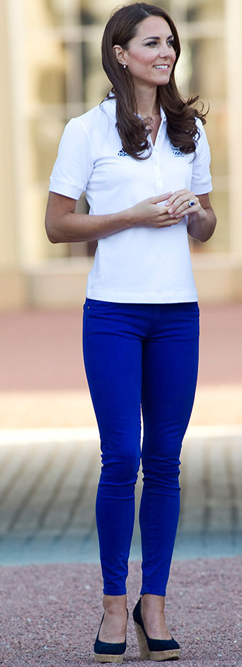 Kate Middleton Blue Jeans