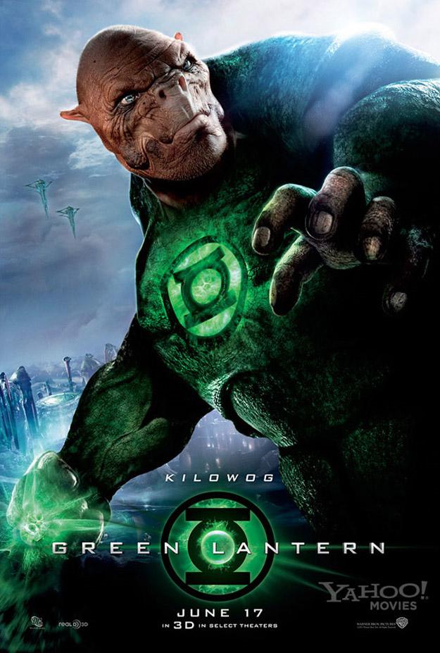 Kilowog Banner Green Lantern