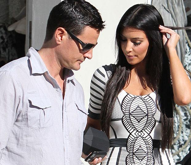 kim kardashian, bodyguard