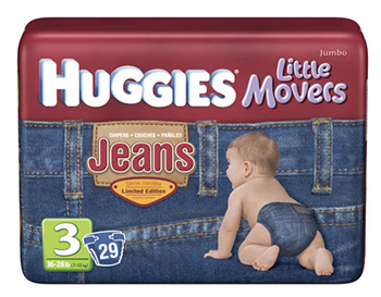 Kim denim diapers
