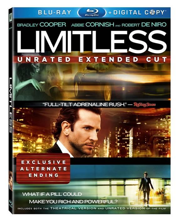 Limitless Blu ray