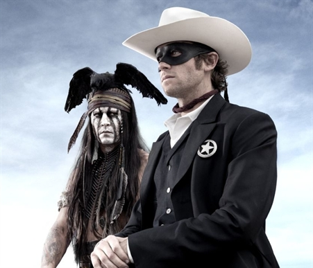 Lone Ranger Footage at Comic-Con