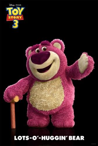Lotso Huggin Bear from Toy Story 3