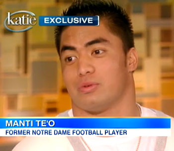 Manti Te'o Confesses to Hoax on 'Katie'