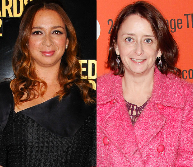 Maya Rudolph and Rachel Dratch
