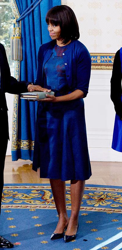 michelle obama inauguration reed krakoff