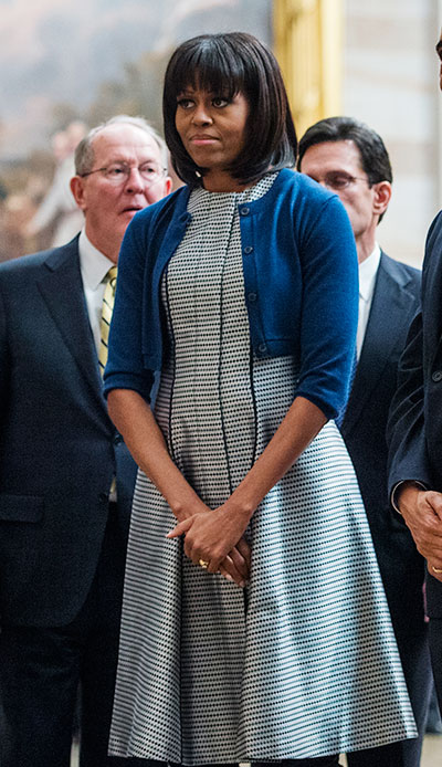 michelle obama inauguration thom browne