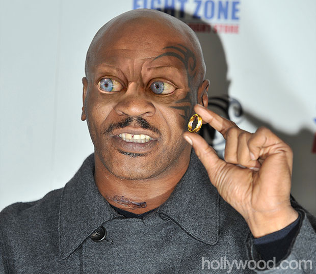 mike tyson gollum eyes