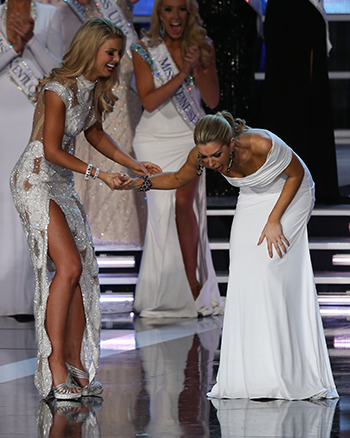 Miss America talent Mallory Hagan wins