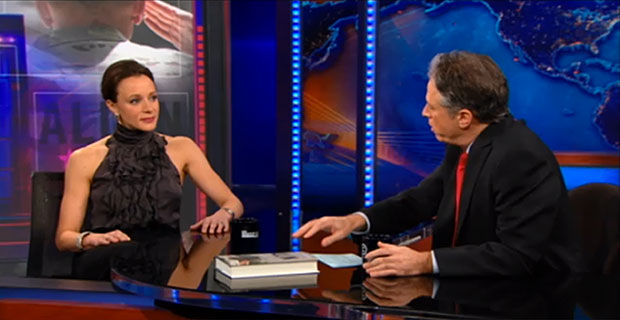 Paula Broadwell on The Daily Show with Jon Stewart