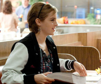 Emma Watson Set Interview Perks of Being a Wallflower