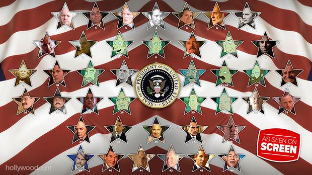 movie tv presidents infographic