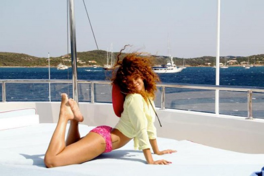 Rihanna yacht