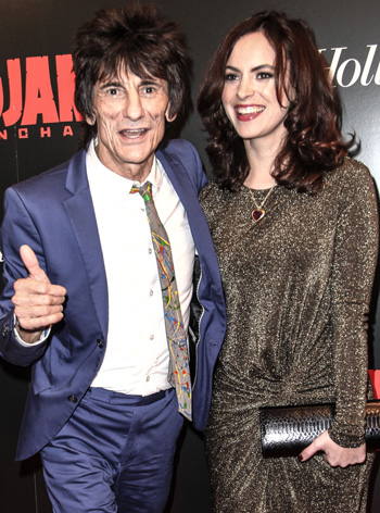 Ronnie Wood married
