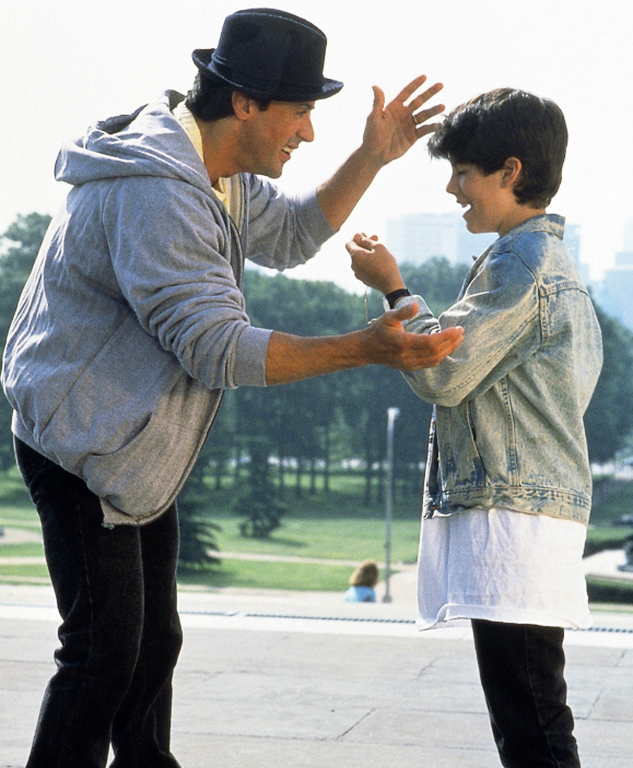 Sage Stallone Rocky
