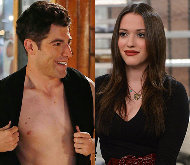 New Girl Schmidt 2 Broke Girls Max