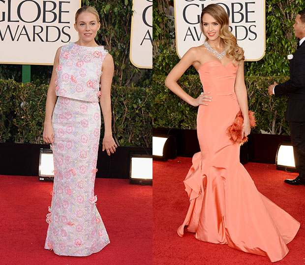 Best Globes Of The Golden Globes: Golden Globes 2013: The 20 Best And Worst Dressed Stars Of