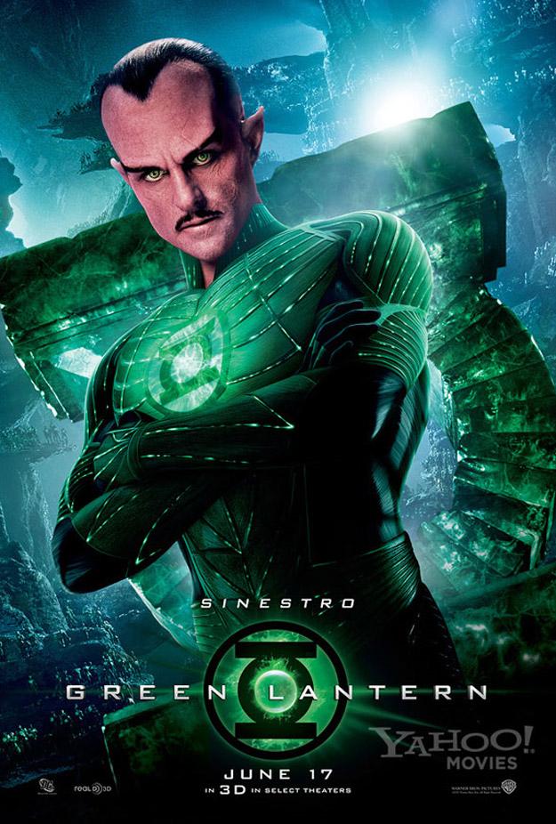 Sinestro Banner Green Lantern