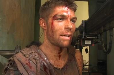 Liam McIntyre Spartacus DVD
