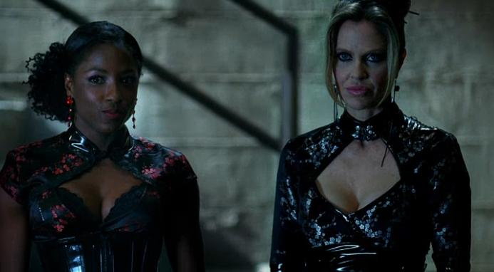Pam and Tara Mom and Daughter True Blood