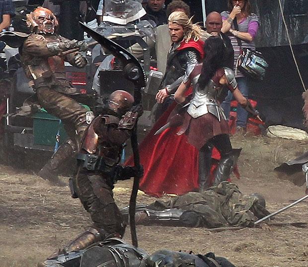 thor dark world fight