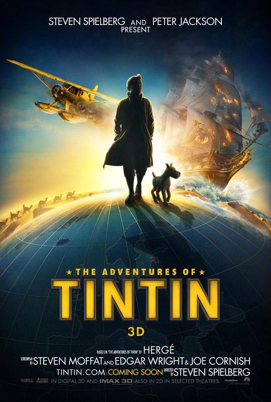 The Adventures of Tin Tin poster