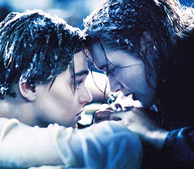 Titanic tok inn vann gitt