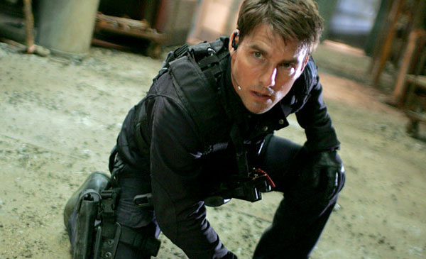 Tom Cruise in Mission Impossible 3