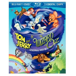Tom and Jerry & The Wizard of Oz Bluray