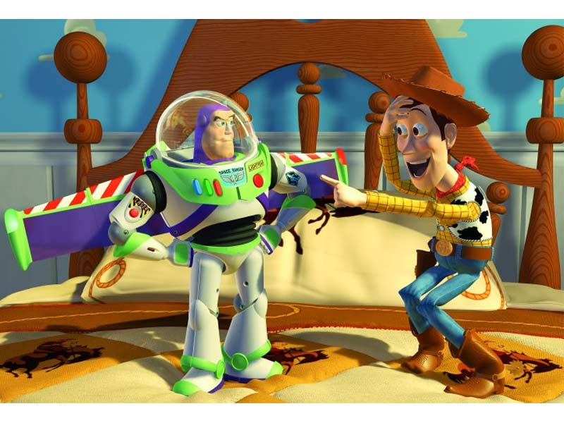 A still from Pixar's Toy Story