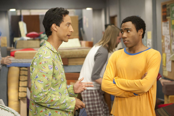 Troy Abed Community Fight