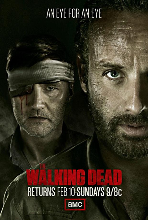 Walking Dead Season 3 midseason poster