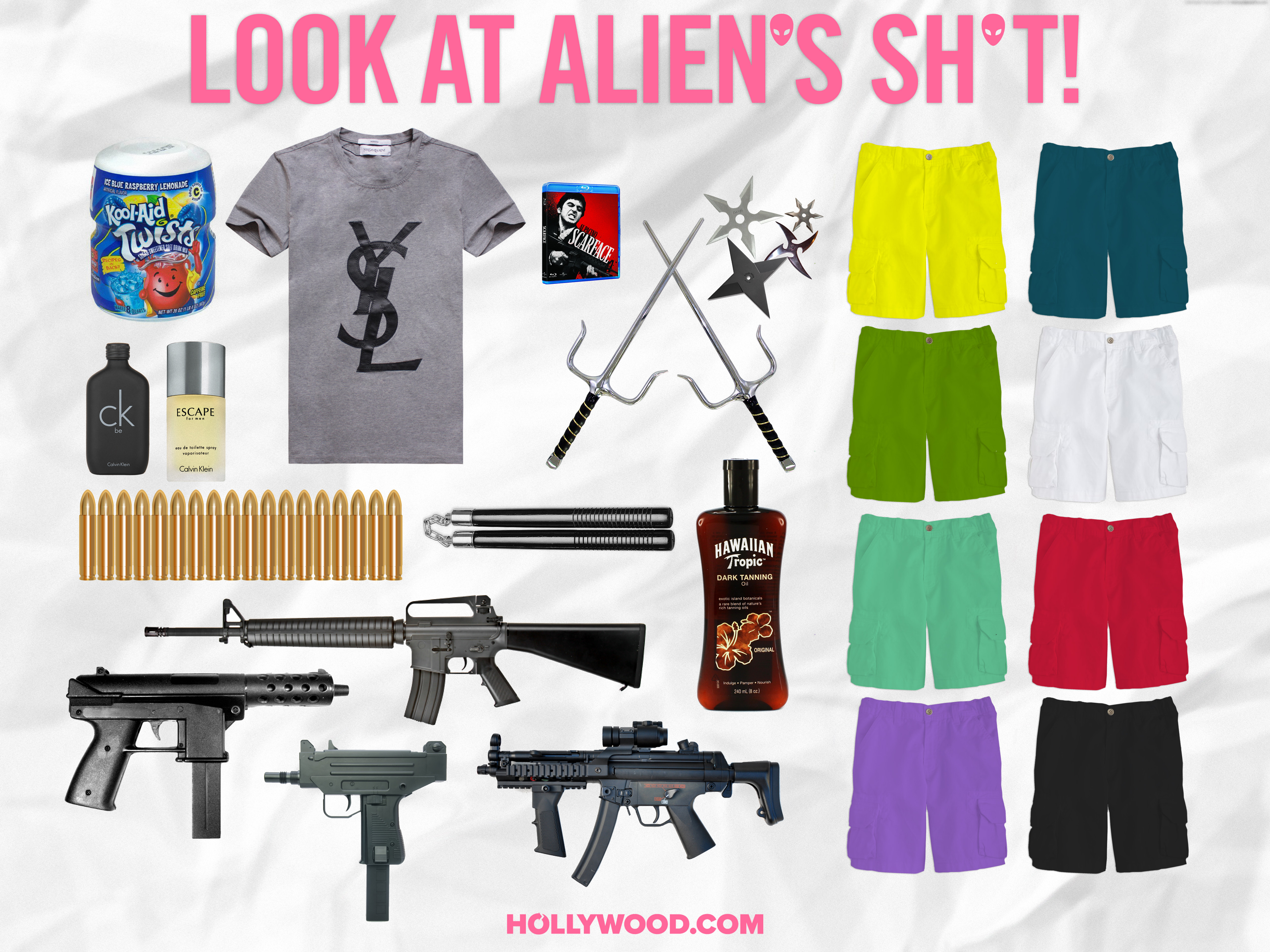 Spring Breakers Look at My Shit James Franco Alien