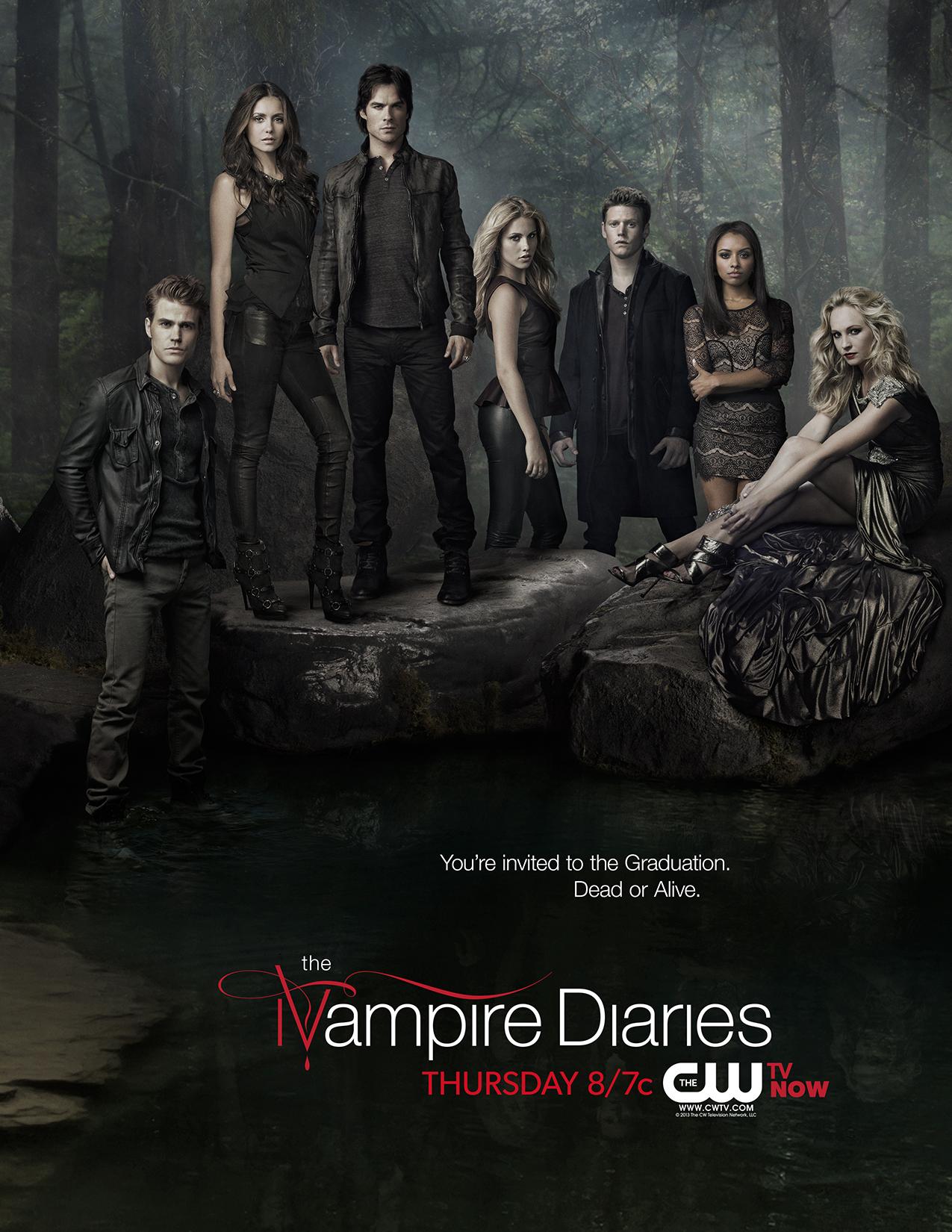 Vampire Diaries Netflix Poster 'The Vampire Diaries' ...